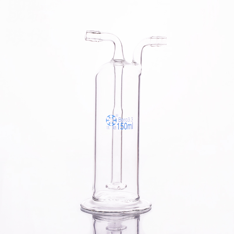 Steel gas washing bottle ,Capacity 150ml,Lab Glass Gas Washing Bottle steel,Shisha hookah купить