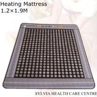 2019 Natural Jade & Tourmaline Mat, FIR/Far infrared/Multi Heat & Energy Therapy heating sleeping mattress 1.2X1.9M