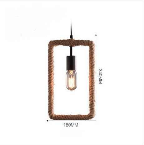 Лофт стиль Геометрическая круглая резинка точечная эдисоновская промышленная винтажная Подвесная лампа для столовой подвесной светильник