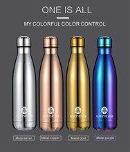 Mode Tragbare Coke Flasche Kreative Isolierung Tasse Hoch grad Edelstahl-vakuumflasche Thermos Reise Kaffee Tasse Wasser Tasse