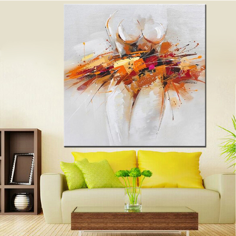 Hand Painted Modern Abstract <font><b>Oil</b></font> <font><b>Painting</b></font> on Canvas Sexy Girl <font><b>Nude</b></font> <font><b>Wall</b></font> Art for Living Room Decor Art <font><b>Nude</b></font> Women <font><b>Oil</b></font> <font><b>Painting</b></font>