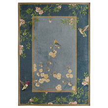 New Chinese Carpet Living Room Contemporary And Simple Art Study Bedroom Bedside Table Floor Mat