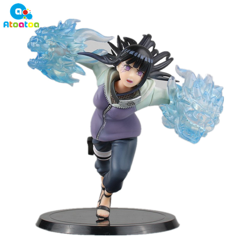15cm Naruto Hinata Action Figure Ninja Hyuuga Hinata Hyuga Naruto Shippuden Movie Hinata Gently Step Twin Lions No Box new hot 18cm naruto hyuga hinata hinata hyuga combat version action figure toys collection christmas gift doll