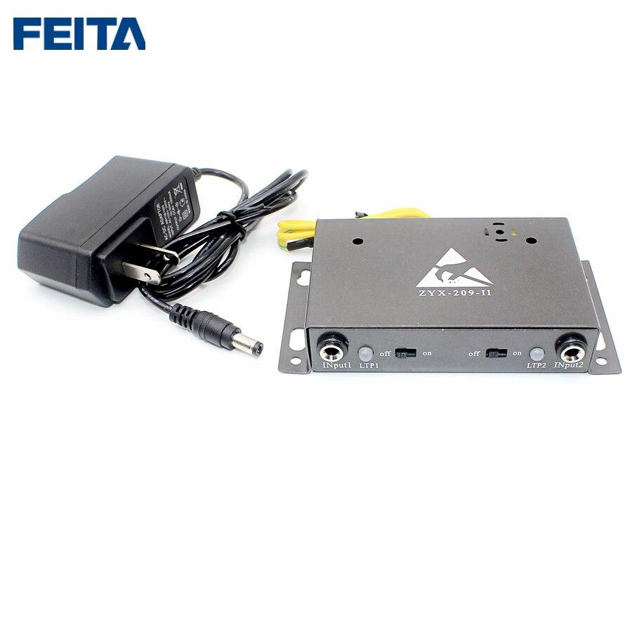 FEITA 209-II Auto-alarm Anti Static ESD Wrist Strap Tester Two Output Anti-static Online Monitor For Anti-static Electronic DIY