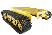 RC Track Mount Model T200 M Golden Alloy DIY Tank Chassis Robbot Chassis
