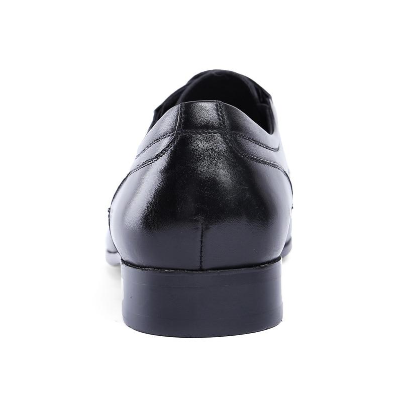 Trabajo 2 Punta Vestir Hombres Boda Estrecha Alta Zapatos Mens Talla Nuevo Oficina 44 Calidad 1 Genuino Vaca De Cuero Moda pBOxHwAq