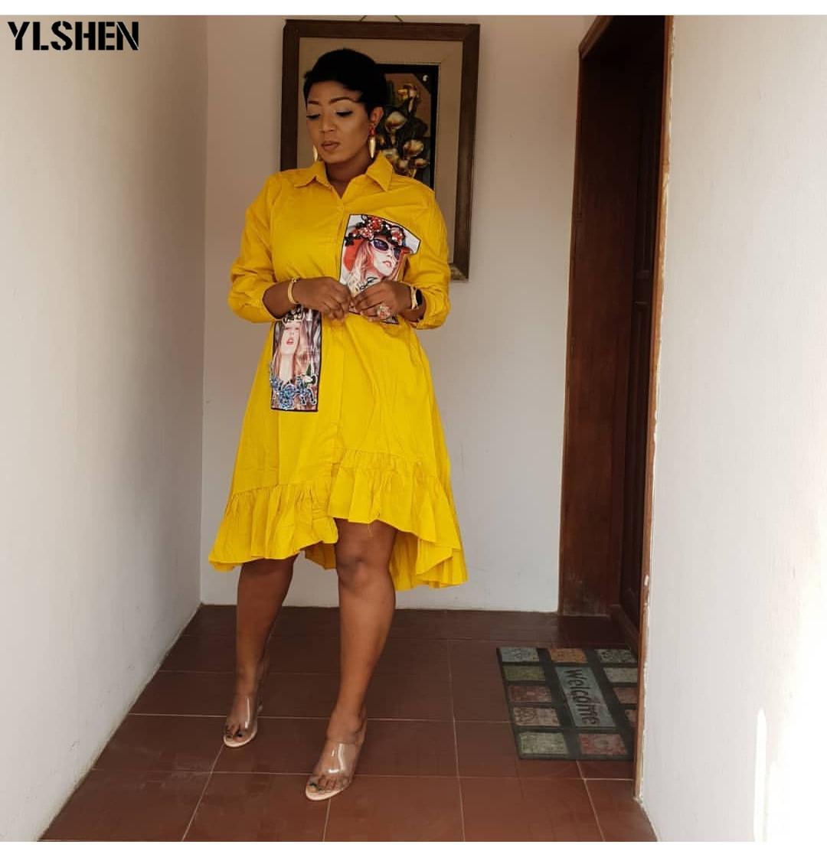 African Dresses For Women Dashiki African Clothes Riche Plus Size Irregular Women Bazin Broderie Evening Long Dresses Femme 2019