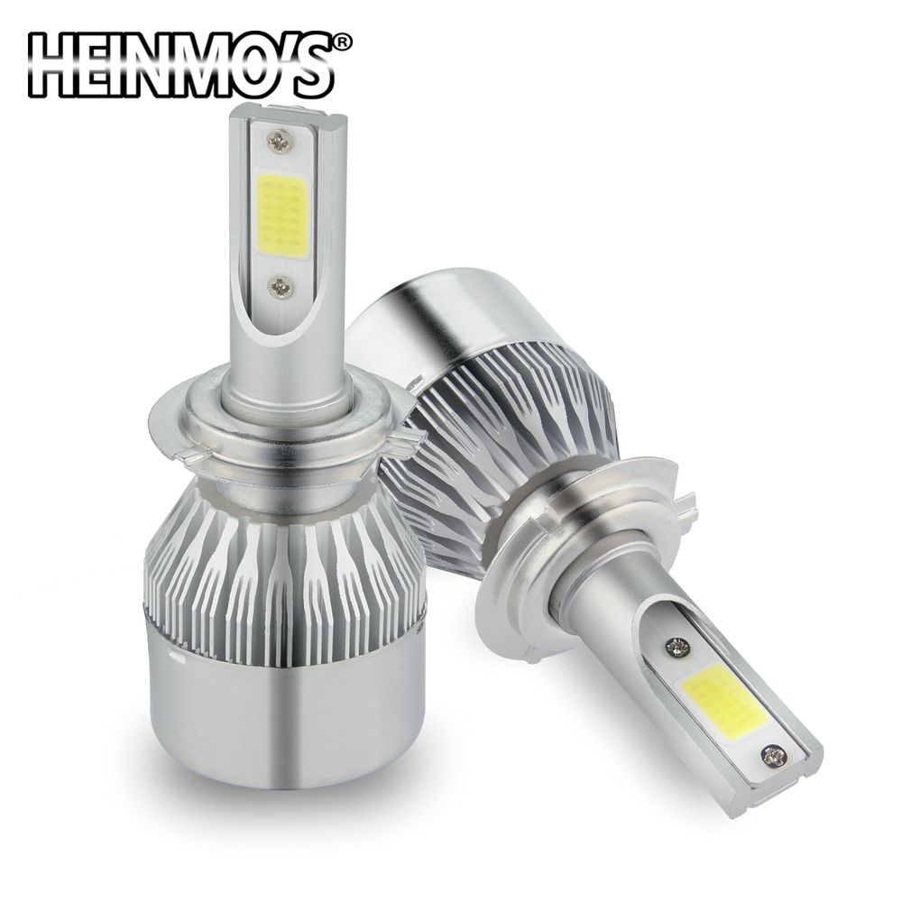 2 * 72W 7600LM COB H8 H9 H11 LED prednja svjetla H7 9005 HB3 HB4 9006 - Svjetla automobila - Foto 2