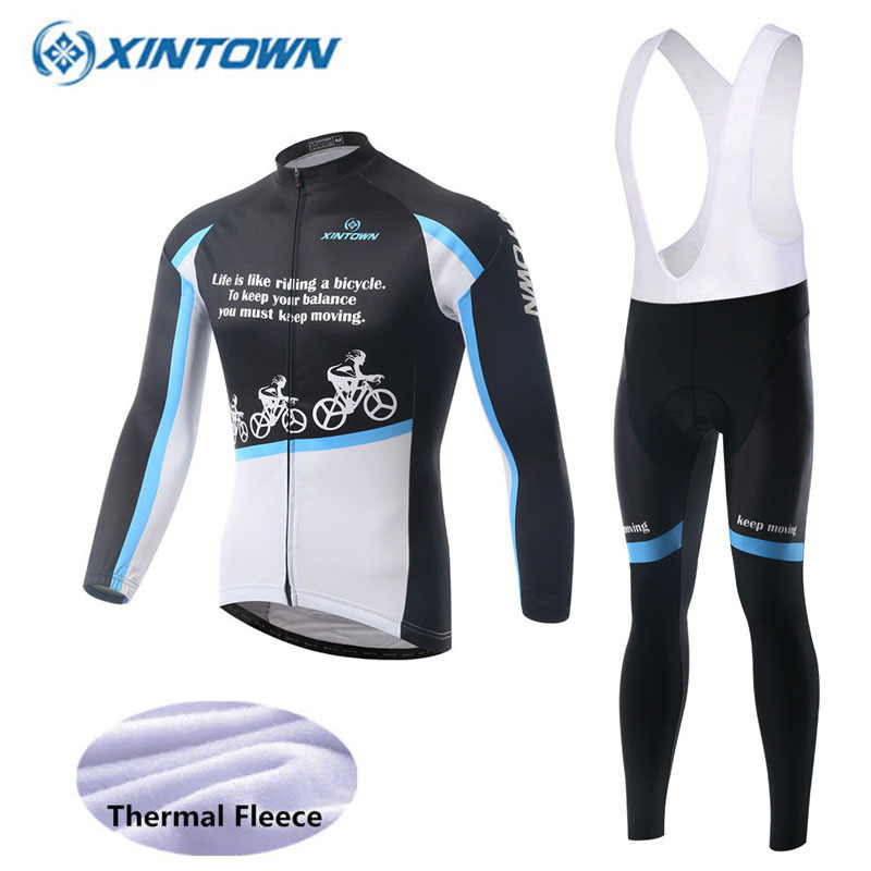 2018 Pro Team Men Long Sleeve Cycling Clothing Ropa Ciclismo Invierno Hombre Winter Thermal Fleece Cycling Jersey Bib Pants Set цена