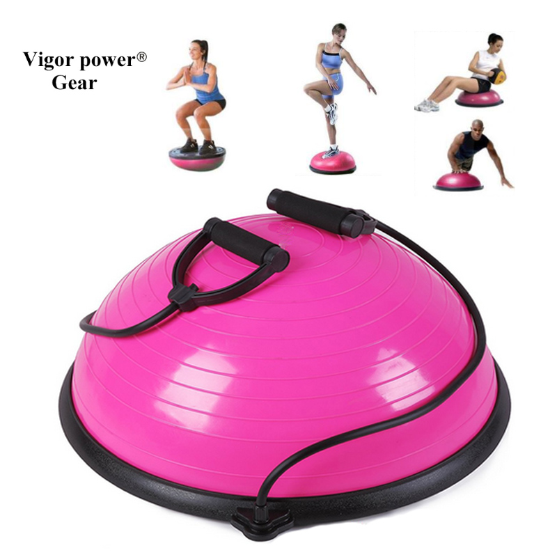 Vigor Power Gear Balance Yoga Trainer Ball Kit with Pump for Exercise Fitness Healthy браслет power balance бкм 9668