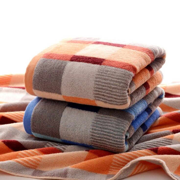 Bescheiden 100% Baumwolle Großen Super Saugfähigen Handtuch Schwimmbecken Für Frauen Und Männer Dusche Handtücher Badezimmer Luxus 70x140 Cm