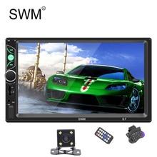 SWM Auto Radio MP5 Lettore 2 Din Touch Screen Lettore di Cassette Dual Sistemi di Collegamento Specchio Auto Auto Radio Stereo Bluetooth autoradio