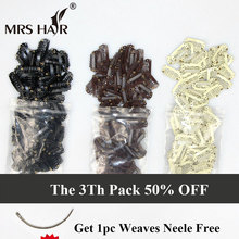 100pcs 2.8cm Snap Clip For Hair Extensions Wig Clips Hairpins Black Clips For Weft weaving Hair Closure Clips Brown Blonde