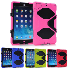3 in1 RUGGED MILITARY DUTY WITH STAND ShockProof Dirt Proof Armor Case Cover Impact On Life FOR Mini 1 2 3