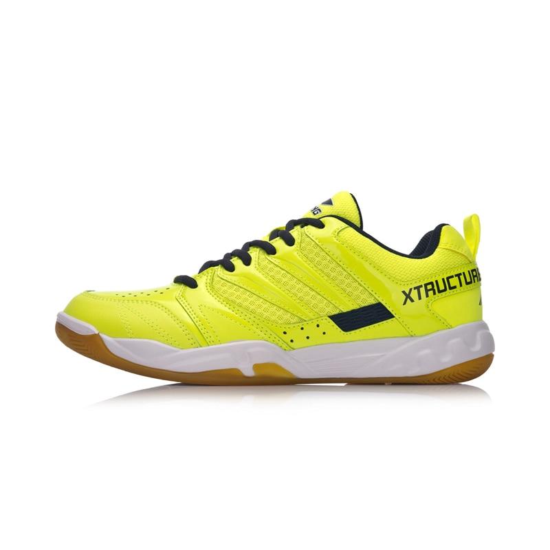 Li-Ning Men STRIKER Badminton Shoes Professional Fitness Training Sneakers Comfort Antiskid LiNing Sport Shoes AYTN025 XYY069