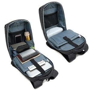 Image 4 - Reise Laptop Rucksack Smart Tasche 15,6 Notebook Rucksäcke Männer Frauen Halten Kühlen Große Taschen Außen Waterpoof Schwarz Bagpack Business