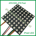 Factory price 8X8 rgb flexible led digital dot matrix apa102