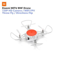 Original Xiaomi MITU WIFI FPV 360 Tumbling RC Drone with 720P HD Camera Multi machine Infrared Battle Camera Drone BNF Version