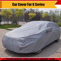 New Car-Styling Car Full Outdoor Cover Anti-UV Sunshade Snow Sun Rain Resistant Protector Cover Car-Cover Fit 6 Series
