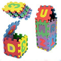 36Pcs/Set Unisex Mini Children Puzzles Kid Toys Educational 3D Puzzle Alphabet A-Z Letters Numeral Soft Foam Mat Rompecabezas