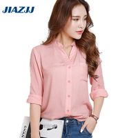 Spring Autumn Western Style Fashion Loose Thin Stand Collar Square Lapel Pocket S M L XL