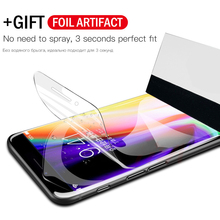 10D Hydrogel Film For iphone 8 7 6 6s Plus X Soft Full Cover Screen Protector For iphone XS Max XR X 7 Protective Film Not Glass все цены