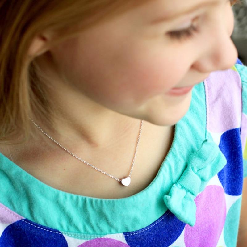 Minuscule amour coeur colliers en acier inoxydable petits coeurs en - Bijoux fantaisie - Photo 4