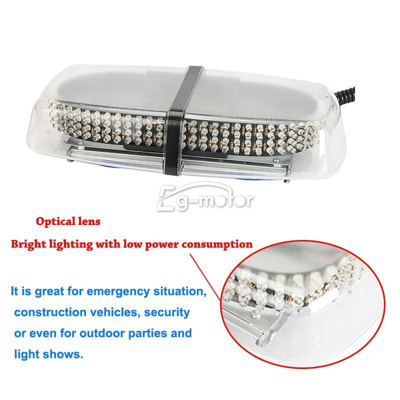 240 LEDs Advertencia Unidad de luz estroboscópica Ámbar Amarillo - Luces del coche - foto 3