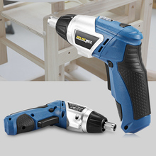 Multifunctional Electric Screwdriver 4.0V Li-ion 180 Degree Rotation Rechargeable Electric Screwdriver Set Electric Drill Bit