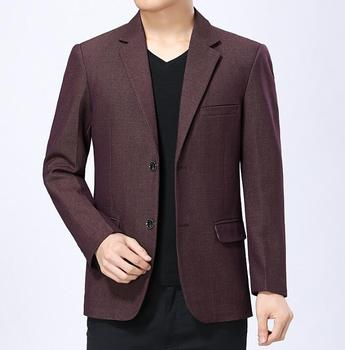 Spring coats mens suits autumn business casual clothes Middle-aged jacket men blazer masculino slim fit new arrival clothes man