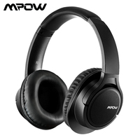 Mpow H7 Bluetooth Headphones Stereo Wireless Over Ear Headphone With Mic Memory protein Ear Cushions For Cellphone/Table/PC/TV