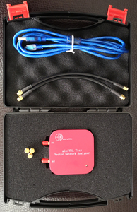 Image 3 - 1 M   3 GHz Vector Network Analyzer miniVNA Tiny Plus2 VHF/UHF/NFC/RFID เสาอากาศ RF เครื่องวิเคราะห์สัญญาณ SWR/S   พารามิเตอร์/Smith