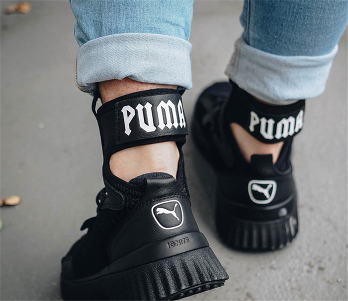 b3bf1ed26 ... 2019 New Arrival Puma Rihanna Shoe Women's Fenty x Trainer Mid Geo  Sneakers High-top
