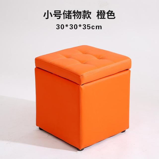 Terrific Us 49 54 32 Off Leather Folding Organizer Storage Ottoman Bench Footrest Stool Coffee Table Cube Camping Fishing Stool Quick And Easy Assembly In Alphanode Cool Chair Designs And Ideas Alphanodeonline