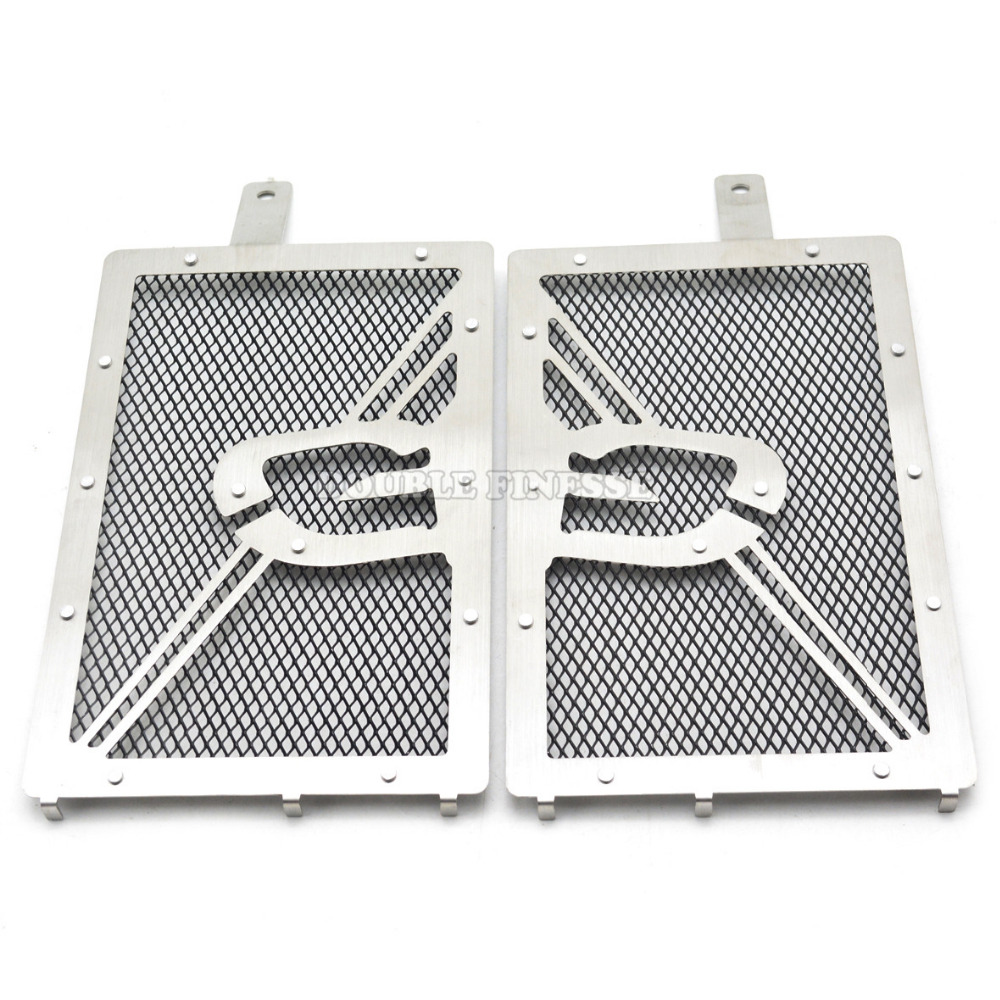 For BMW R1200GS 13 14 15  BMW R1200GS ADV 14 15 motorcycle stainless steel radiator guard protector grille grill cover radiator protective cover grill guard grille protector radiator grille guard cover for bmw r1200gs 13 15 r1200gs adv 14 15