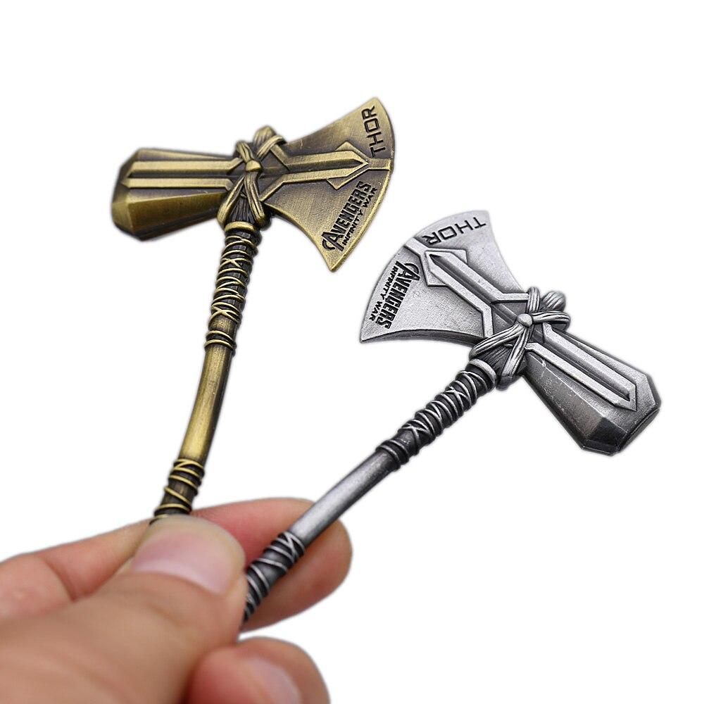 Thor Llavero Llavero Llavero infinito Los Vengadores STORMBREAKER ROMPE TORMENTAS martillo de guerra Tomahawk