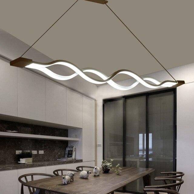 modernas luces colgantes para comedor cocina sala de estudio decoracin lmpara de techo accesorios de iluminacin