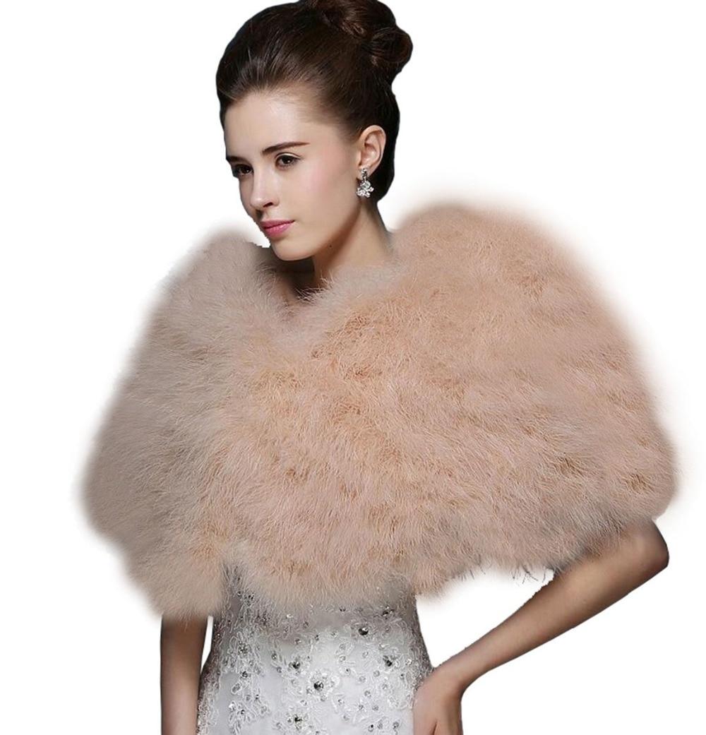 Ostrich-Feather-Bridal-Wraps-Shawl-Faux-Fur-Marriage-Shrug-Coat-Bride-Winter-Wedding-Party-Boleros-Jacket (5)
