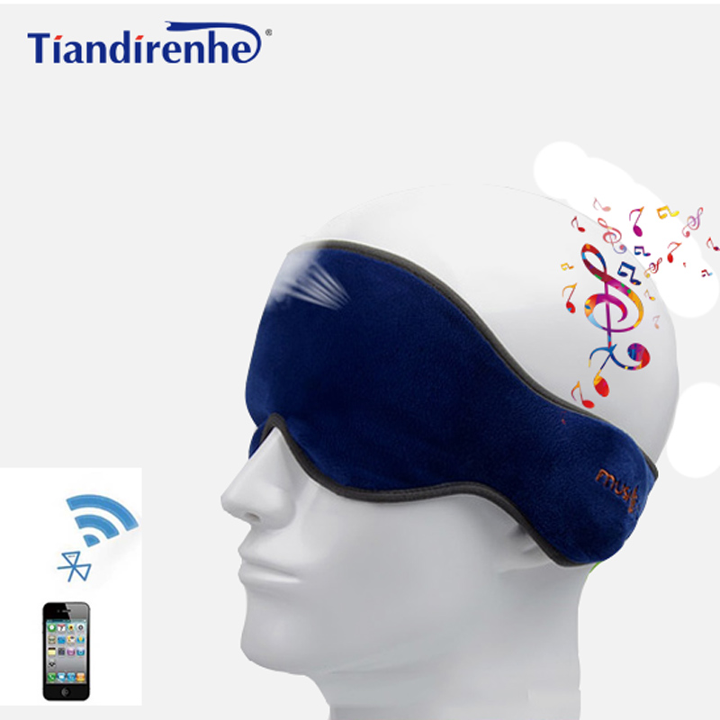 Sans fil Bluetooth Écouteur Sommeil Masque Téléphone Bandeau Souple Écouteurs pour Casque Dormir le Écouter de La Musique Répondeur Téléphonique