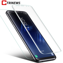 ФОТО ctrinews front +back 3d curved full cover for samsung galaxy s9 s9 plus s8 note 8 s7 edge screen protector pet protective film