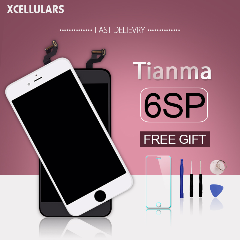 10pcs lot Tianma LCD For iPhone 6S Plus 6sp Moblie Phone Parts Touch Screen With Good