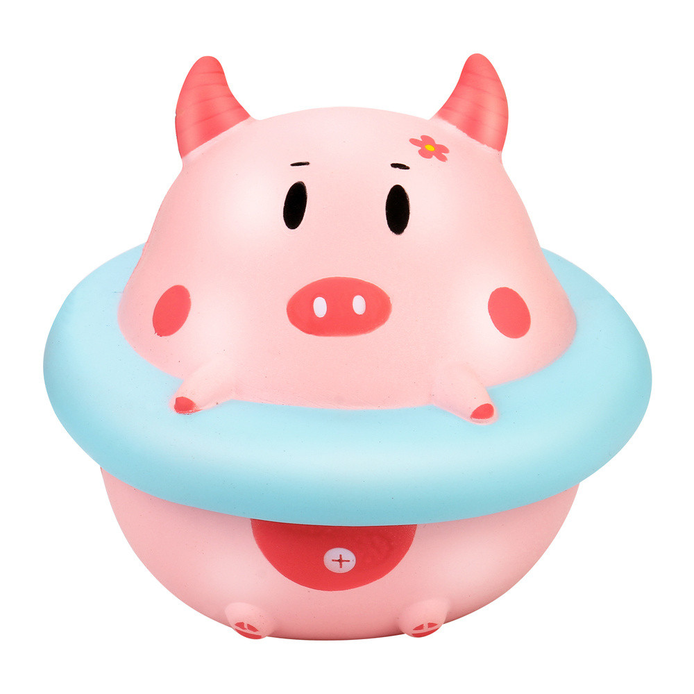 HIINST Antistress Squishy Cute Ring Slow Rising Soft Squeeze Toy Whoopee Mokuru Apl10 W20d40 Drop Shipping