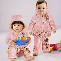 Aoobcc baby clothes female 0-1 year old baby winter wadded jacket set thickening cotton-padded jacket autumn and winter