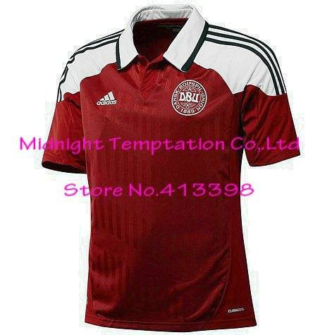 sports shoes 8bd2f abb03 Denmark national team jersey,soccer game jersey short ...