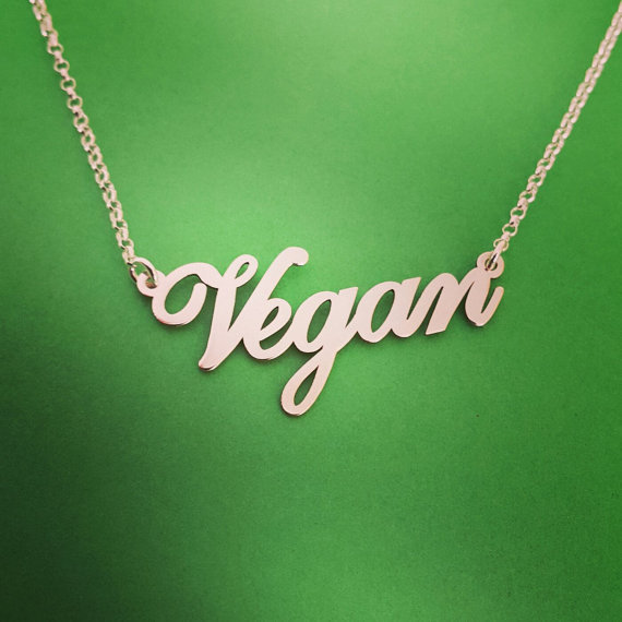 Vegan's Symbol Shaped Jewelry
