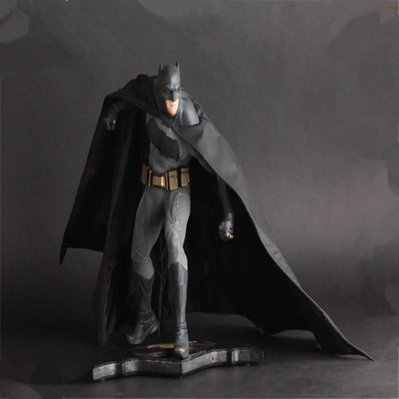 Batman Vs. Superman Combat Ver. Action Figure PVC Action Figure Collectible Model Toy 25cm KT3569 shf figuarts superman in justice ver pvc action figure collectible model toy