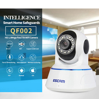 Home Security ESCAM HD Wireless IP Camera P2P 720P Wifi Video Surveillance Camera Outdoor Indoor WIFI
