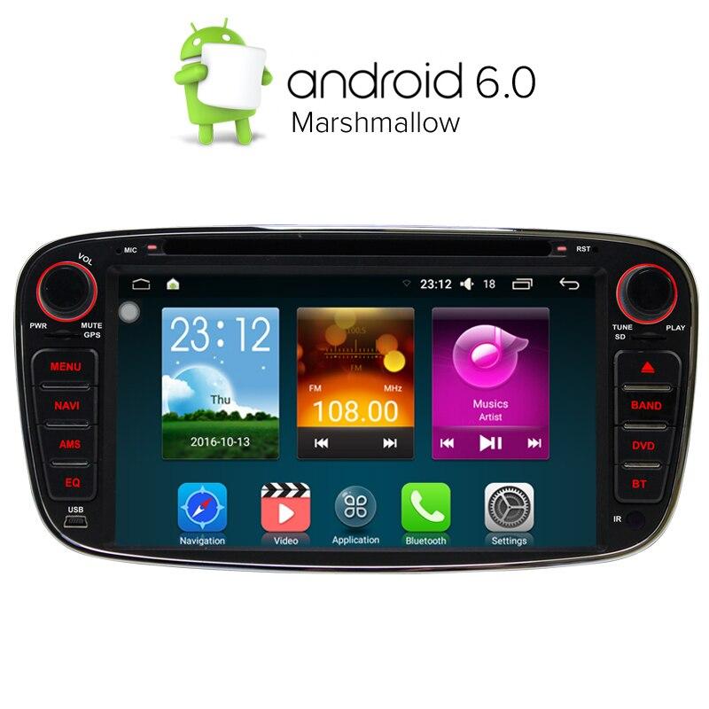 a sure 7 2 din android 6 0 quad core car dvd player gps. Black Bedroom Furniture Sets. Home Design Ideas