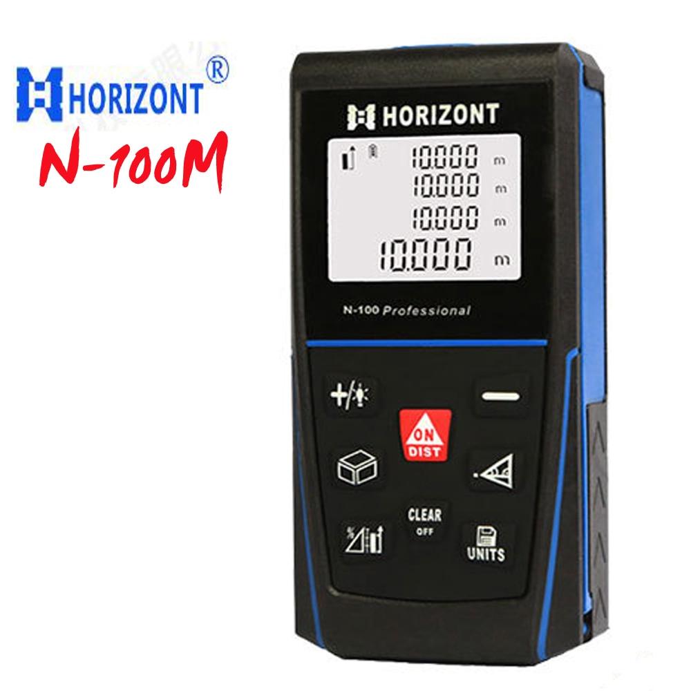 ФОТО N-100 range finder, Professional test distances With hole standard tripod rangefinder 100m Pythagorean test Electronic ruler