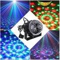 3 Вт Мини голосовое управление RGB LED Кристалл Magic Ball Стадия Эффект Освещения Лампа Рождество Этап Партии Дискотека клуб DJ Light